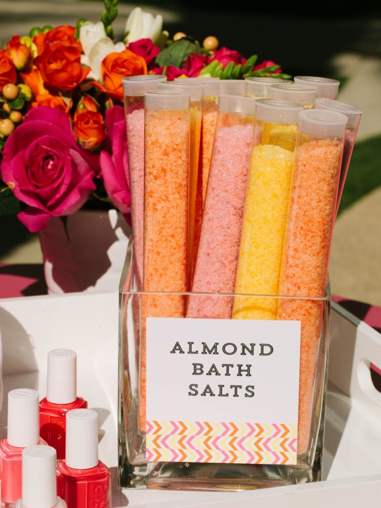 pamper mommy baby shower ideas