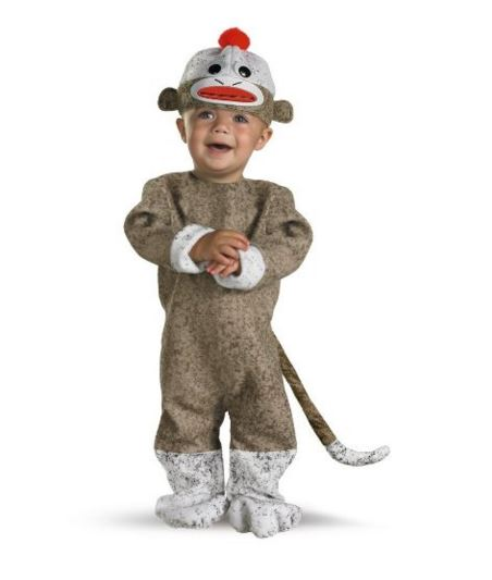 Monkey first birthday outfit
