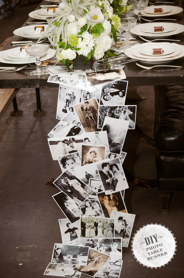 Black and white wedding ideas on a budget