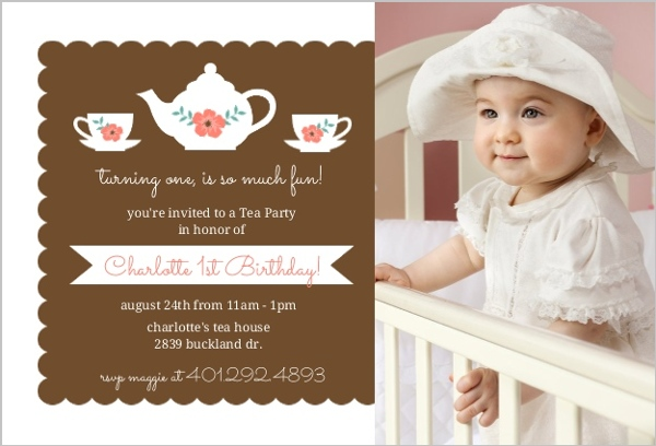 tea party first birthday
