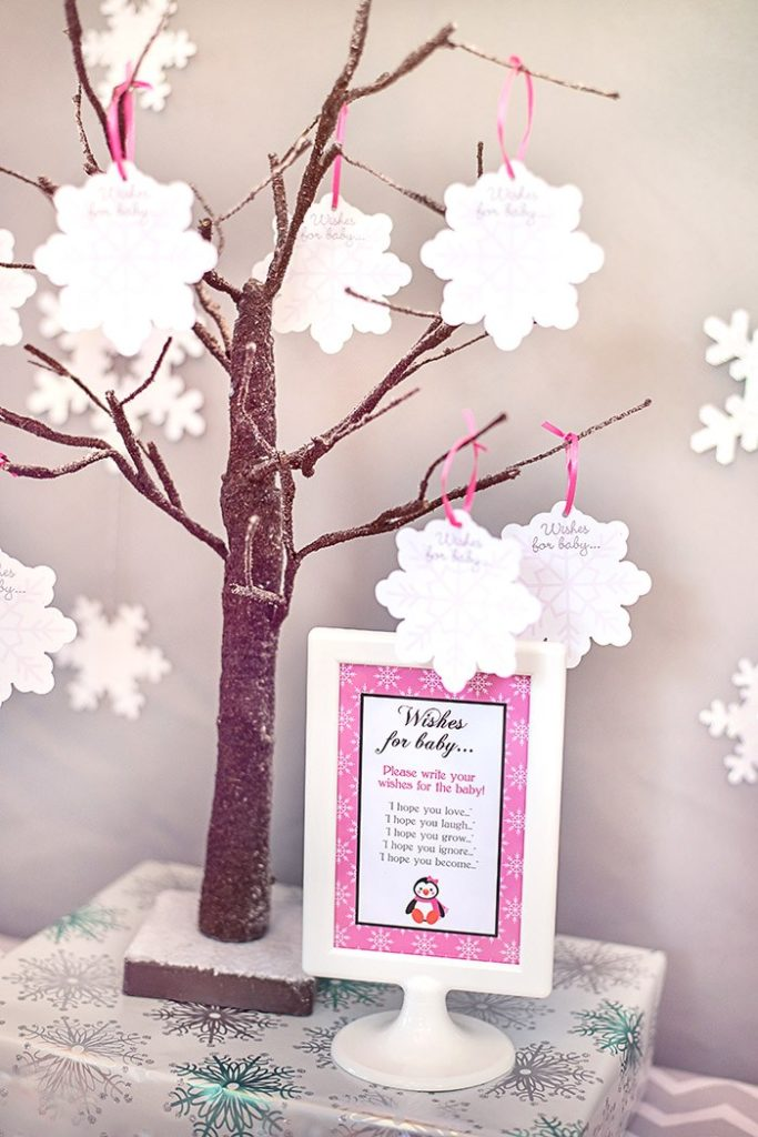 winter wonderland baby shower