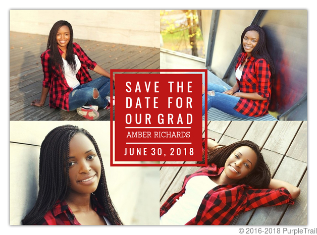 save the date graduation