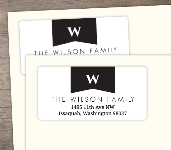 Personalize Address Label