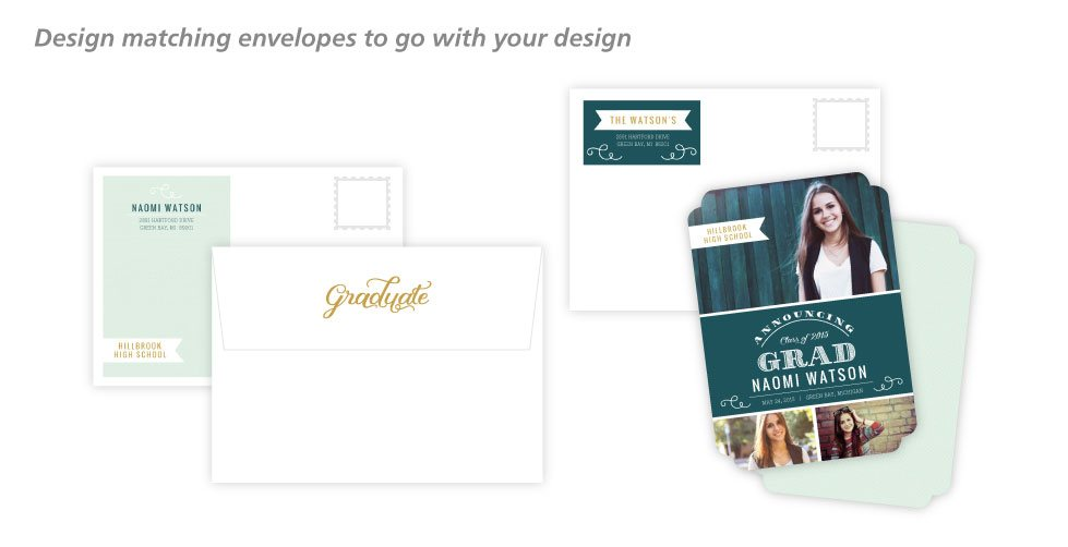 Create a matching envelope