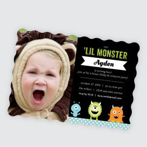 Kids Halloween Invitations