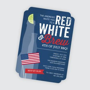 Cheap 4th Of July Invitations